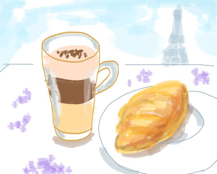 The science-backed reasons why croissants always taste better in Paris